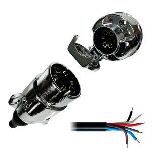 Kit-Tomada-Eletrica-Para-Engate-Cromada-6-Polos---Cabo-Pp-DNI-8369