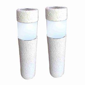 Luminaria-Solar---Poste-de-Resina---2-Unidades---DNI-6130K